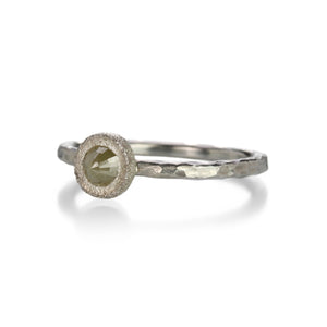 Todd Pownell Yellow Rose Cut Diamond Ring | Quadrum Gallery