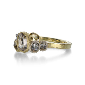 Todd Pownell Mixed Diamond Ring | Quadrum Gallery