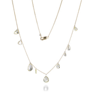 Todd Pownell Pear Shaped Diamond Necklace | Quadrum Gallery