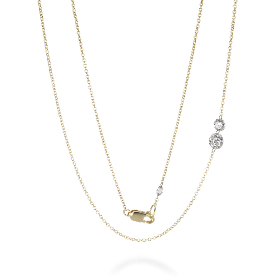 Todd Pownell Round Free set Diamond Necklace | Quadrum Gallery