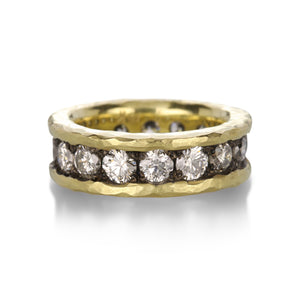Todd Pownell Wide Diamond Eternity Band | Quadrum Gallery