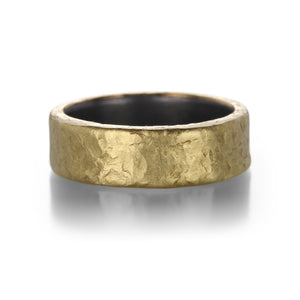 Todd Pownell Rustic Hammered Band | Quadrum Gallery