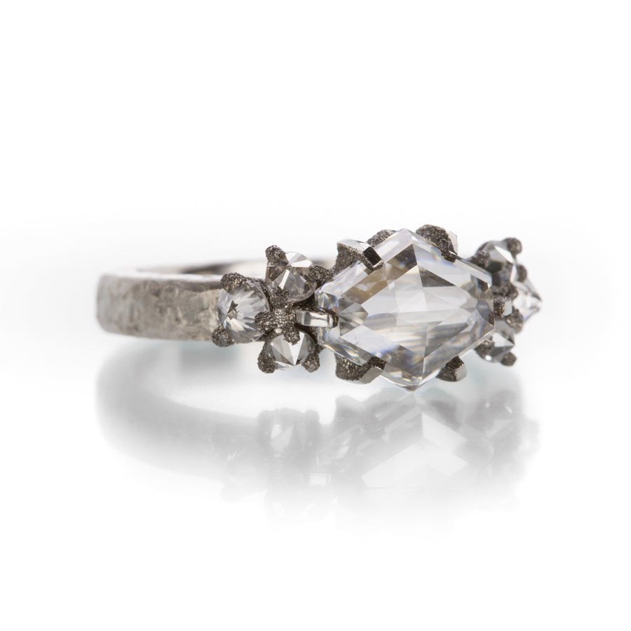 Todd Pownell Step Rose Cut Diamond Ring | Quadrum Gallery