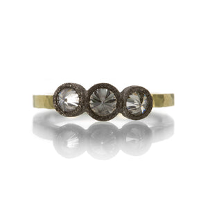Todd Pownell Triple Inverted Diamond Ring | Quadrum Gallery