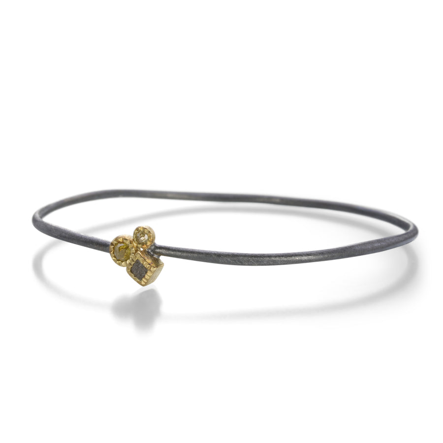 Todd Reed Raw Cube Cluster Bangle Bracelet | Quadrum Gallery