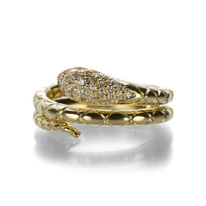 Temple St. Clair Small Double Serpent Ring | Quadrum Gallery