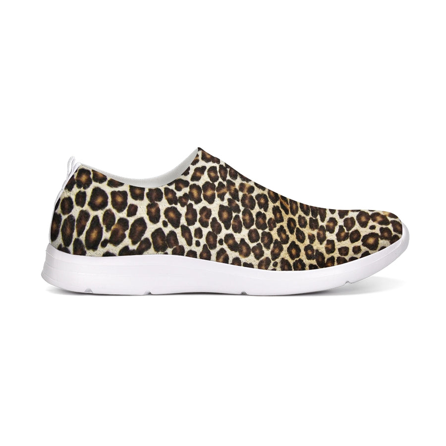 Natural Leopard Flyknit Slip-on Shoe
