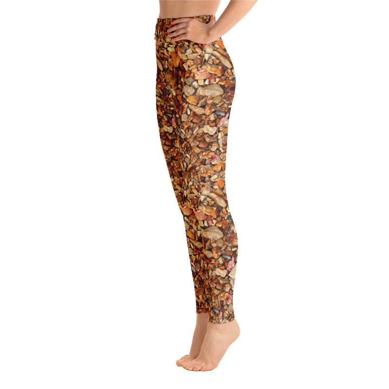 Natural Rocks Yoga Leggings