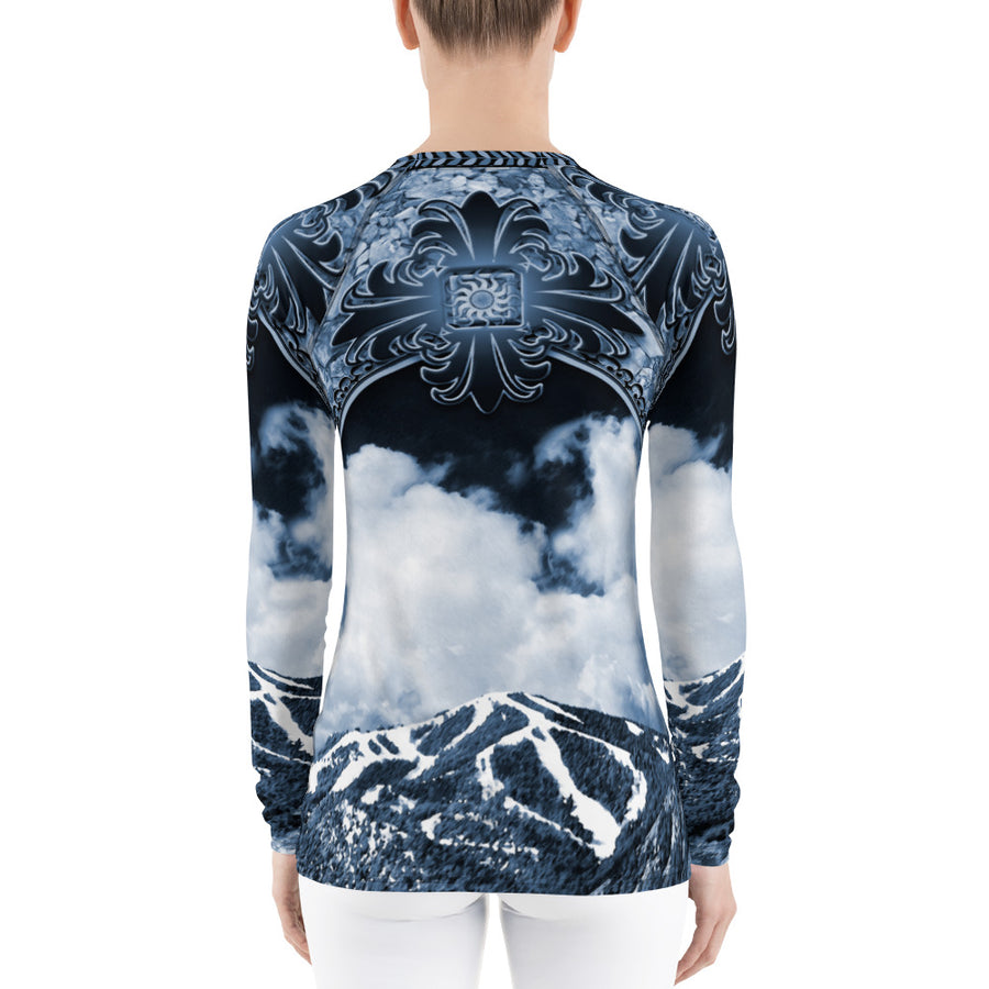 Mt. Baldy Indigo Long Sleeve Top