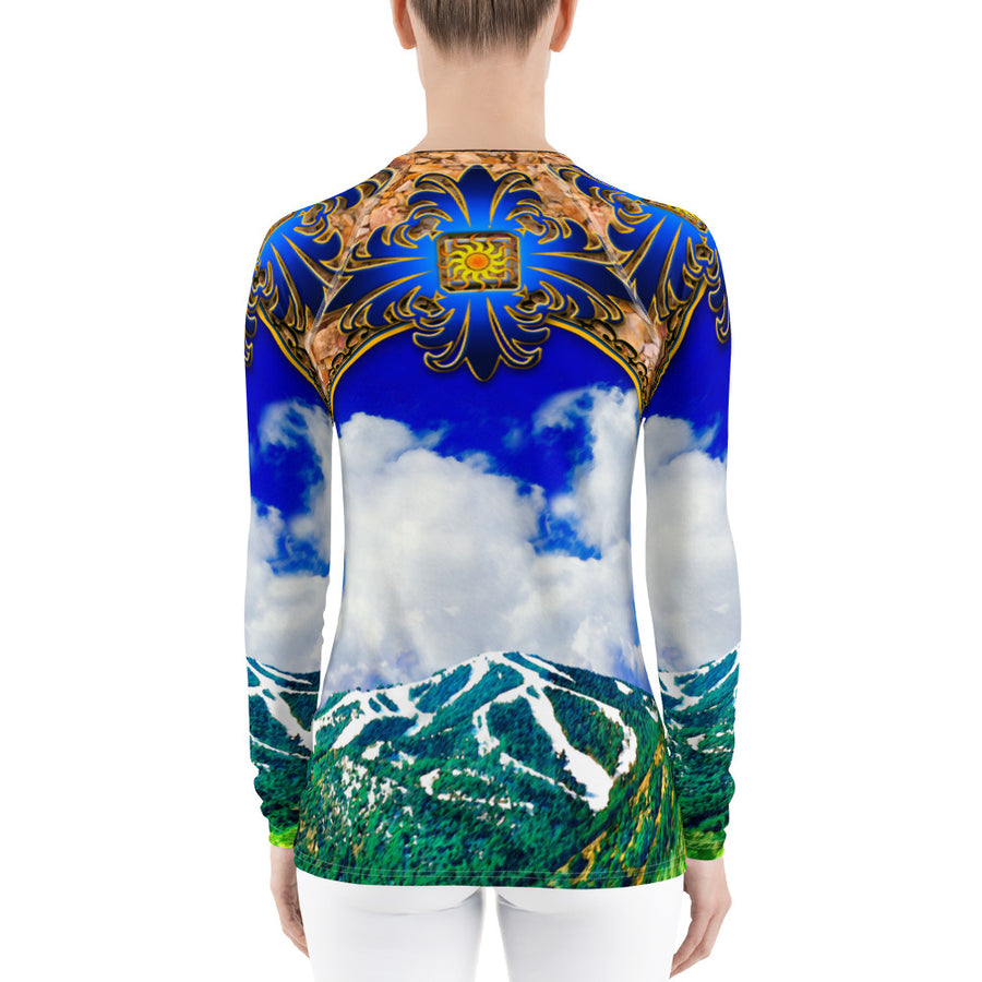 Versace Does Baldy Long Sleeve Top