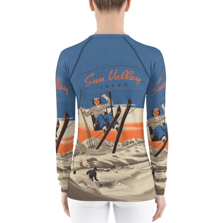 Sun Valley Skier Long Sleeve Top