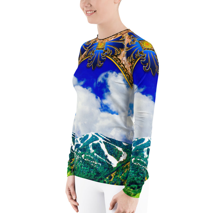 Mt. Baldy Color Long Sleeve Top