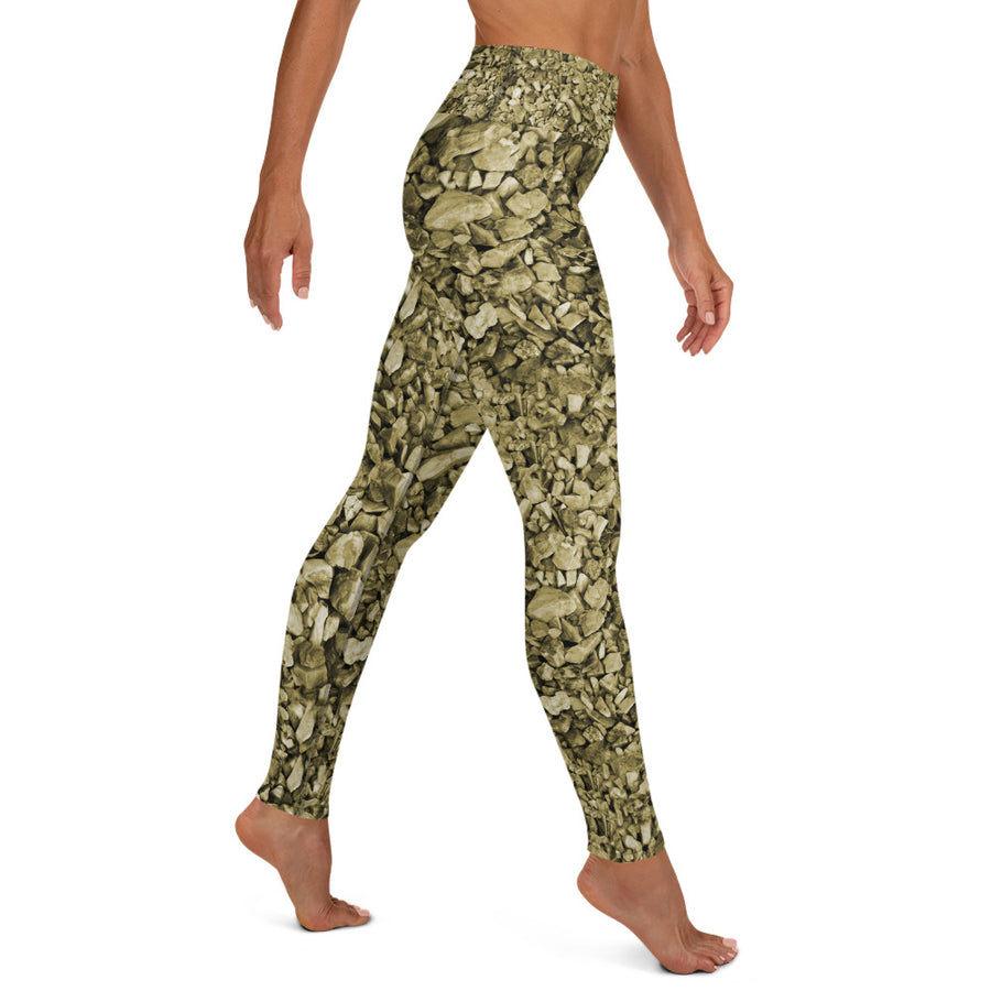 Olive Rocks Yoga Leggings