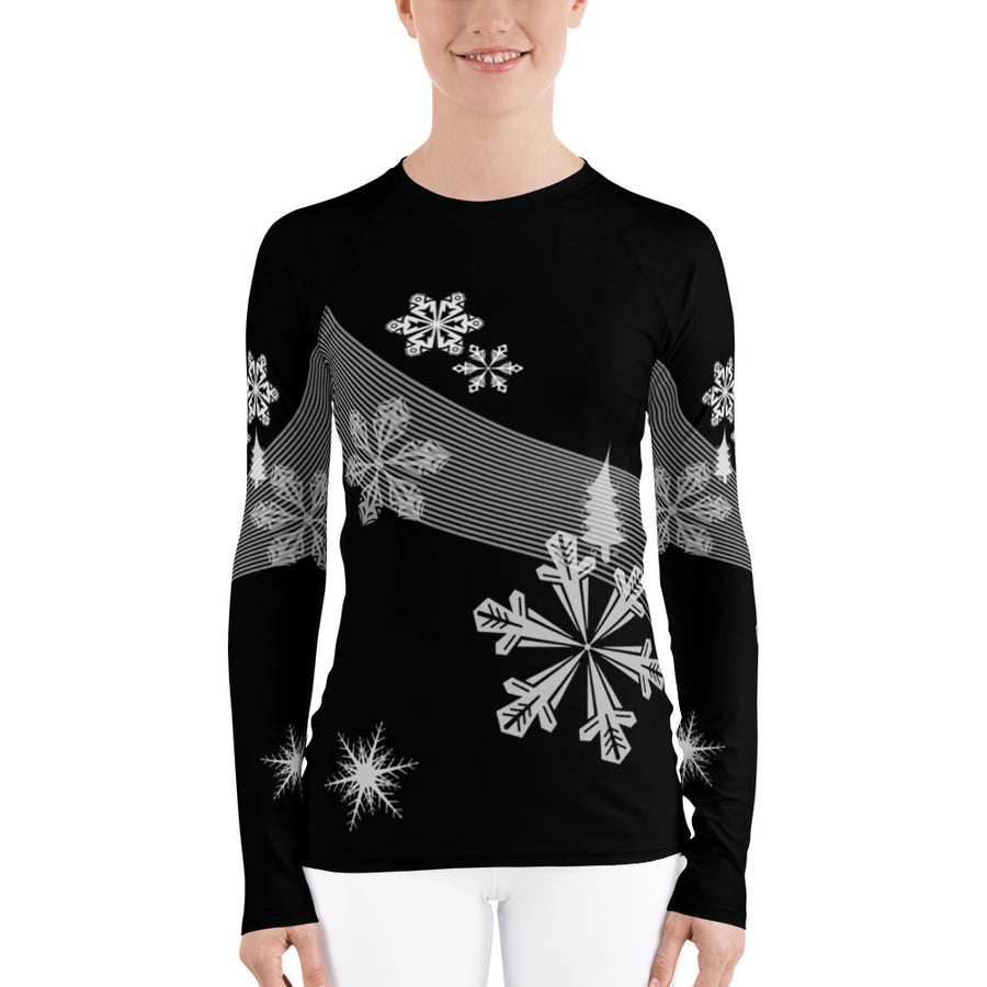 Night Ski Women's Long Sleeve Top