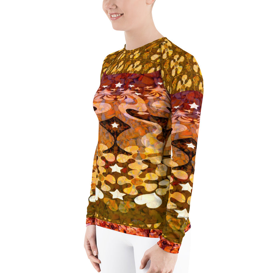 PopArt Multi Women's Long Sleeve Top