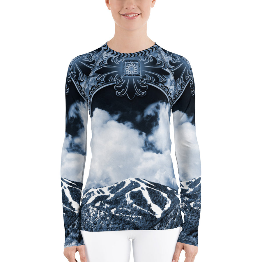 Mt. Baldy Indigo Women's Long Sleeve Top