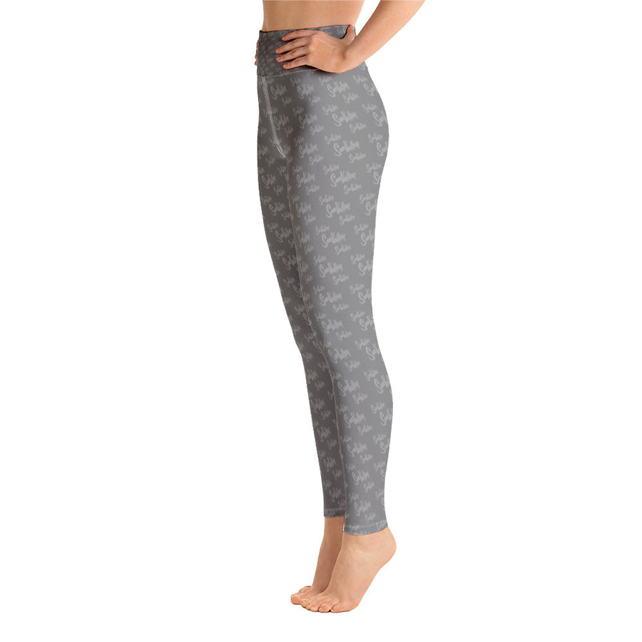 Sun Valley Logo Grey Yoga Leggings