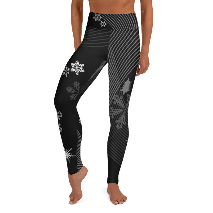 Night Ski Yoga Leggings