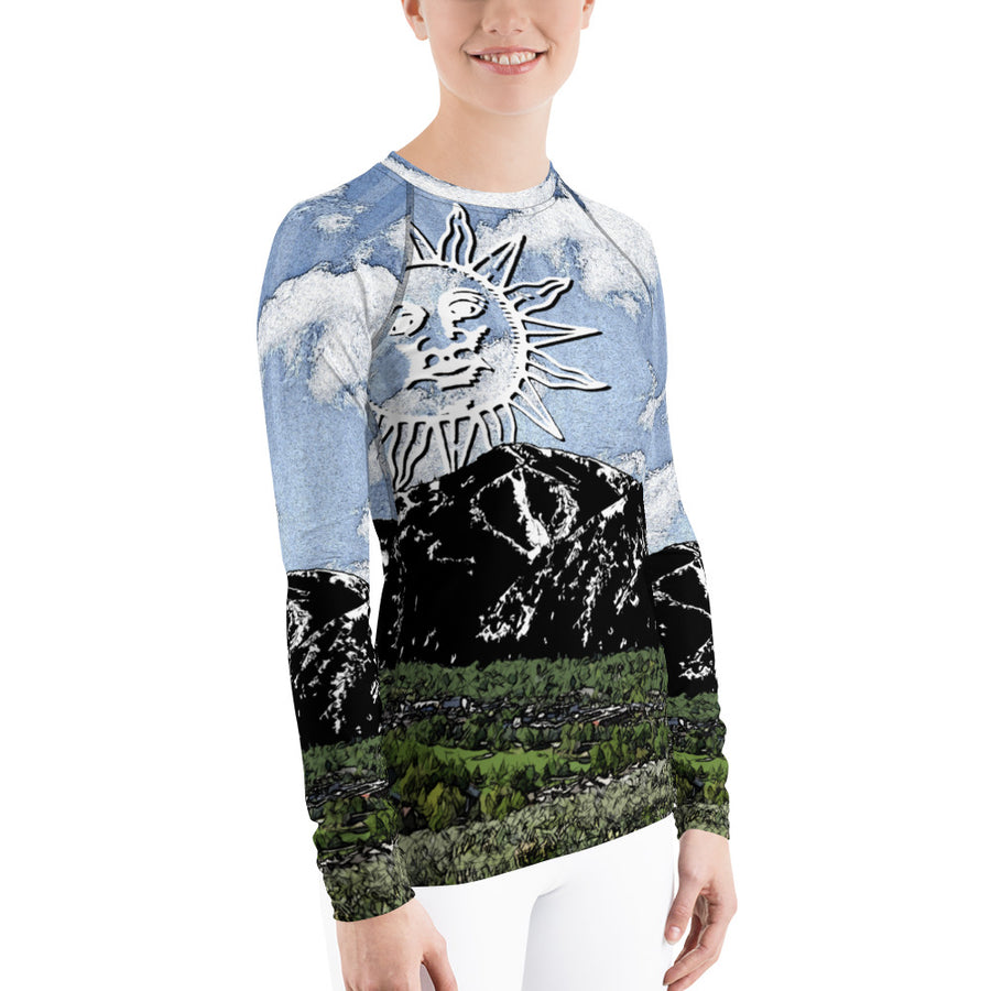 Sun Valley Summer Sun Long Sleeve Top