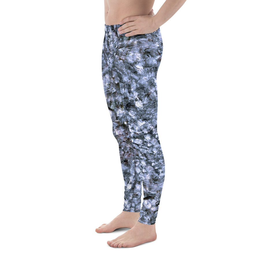 Riverbed Blue Men's Leggings
