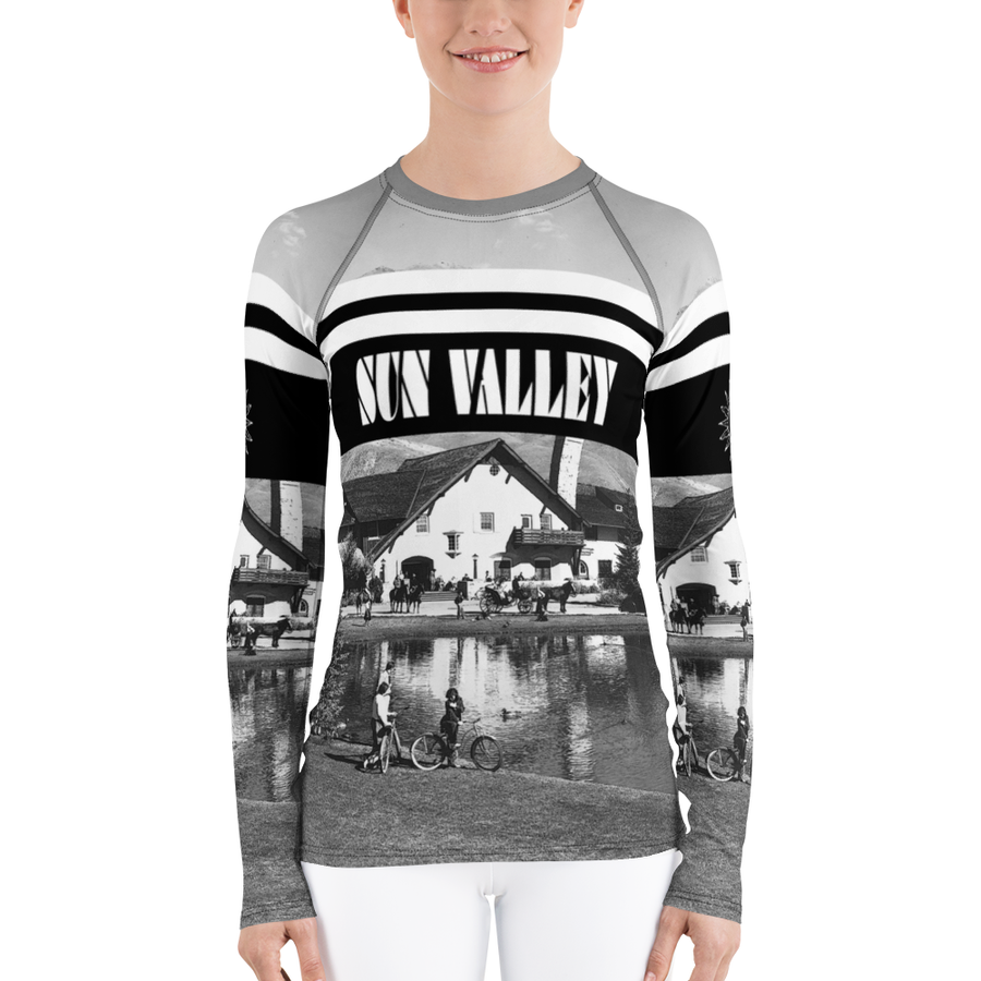 Summer at the Sun Valley Inn Long Sleeve Top