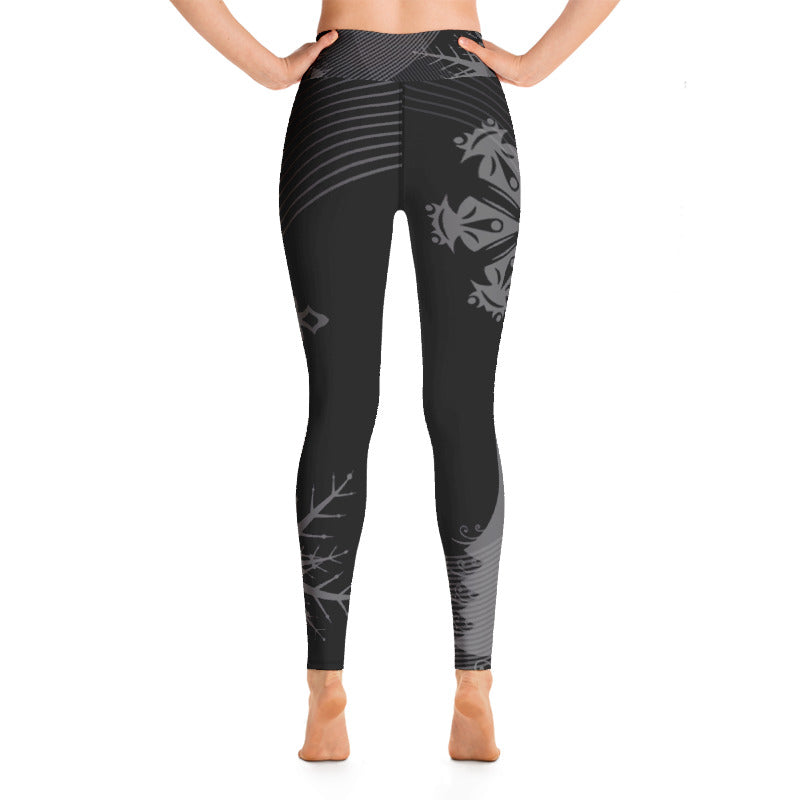 Back Country Black Yoga Leggings
