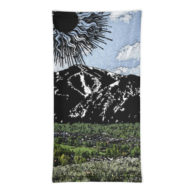 Summer Sun Over Baldy Neck Gaiter
