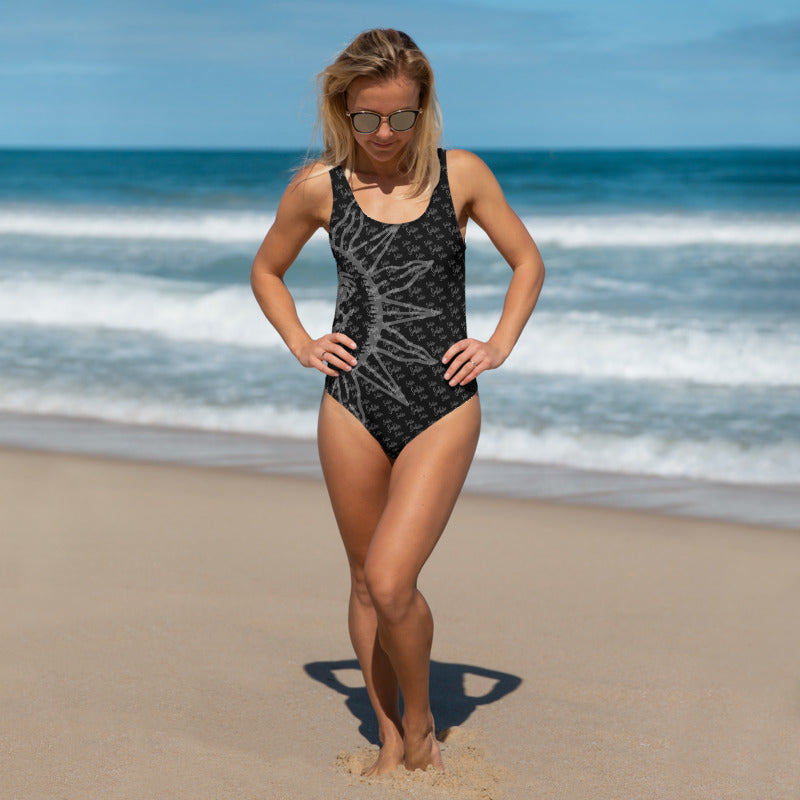 Sun Valley Sun Logo One Piece Swimsuit