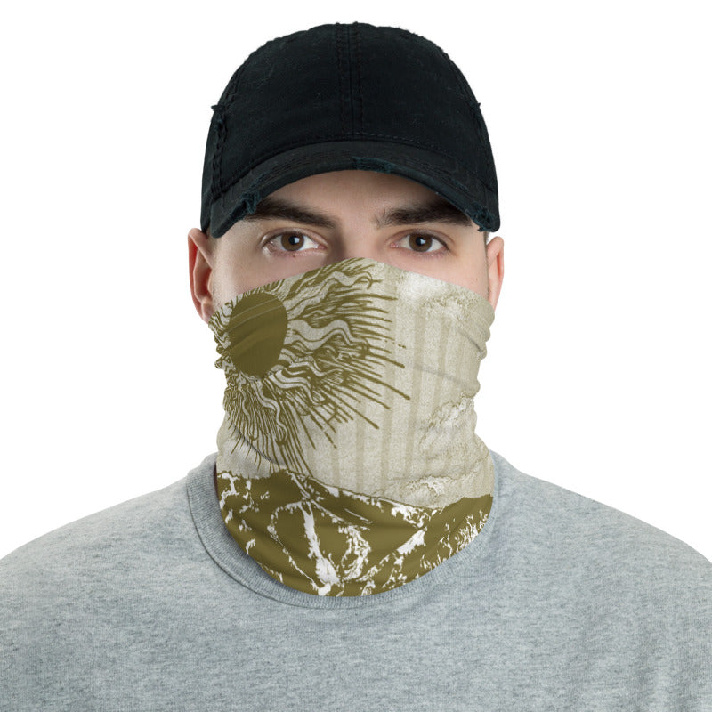 Summer Over Baldy Olive Neck Gaiter