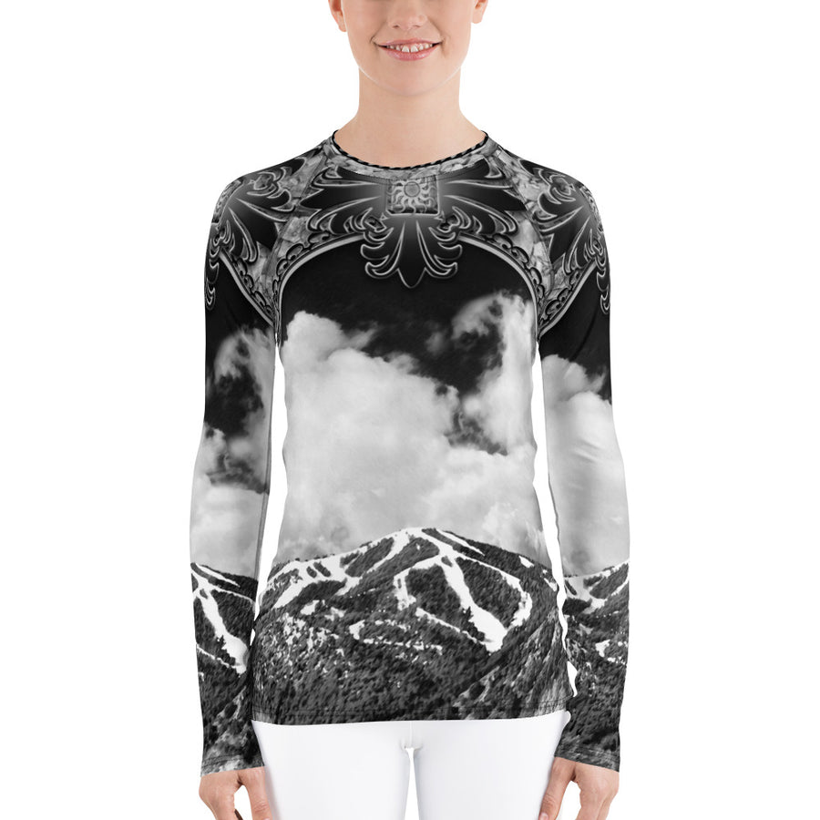 Mt. Baldy Long Black Sleeve Top