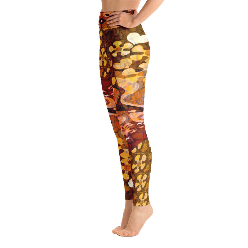 PopArt Multi Yoga Leggings