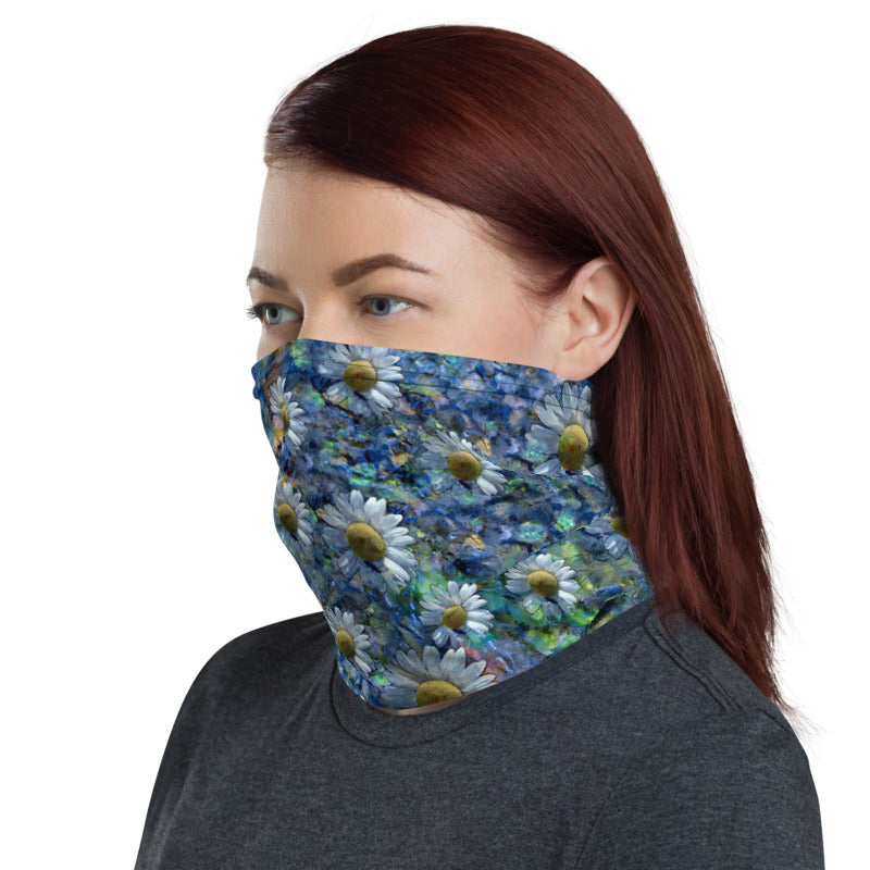 Floating Daisies Neck Gaiter
