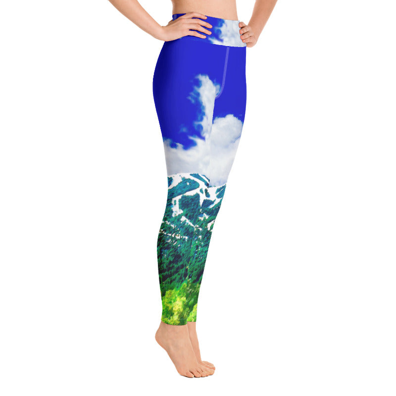 Versace Does Baldy Yoga Leggings