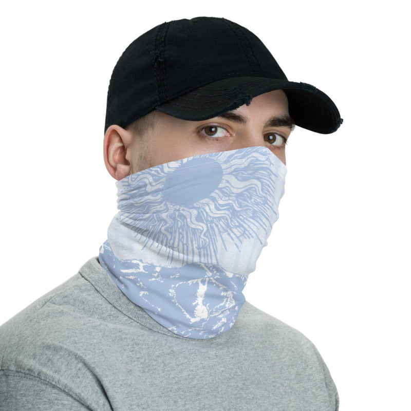 Summer Over Baldy Lt/Blue Neck Gaiter