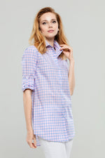 Pink/Blue Check Tunic
