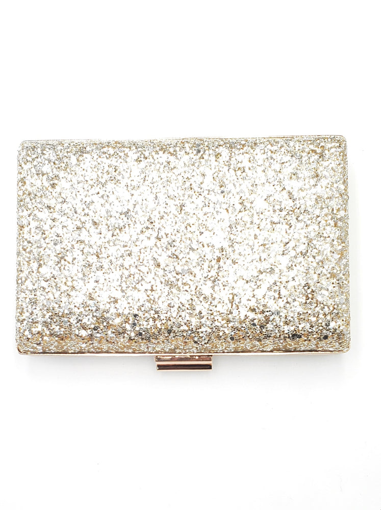 Load image into Gallery viewer, Gold & Silver Sequin Clutch