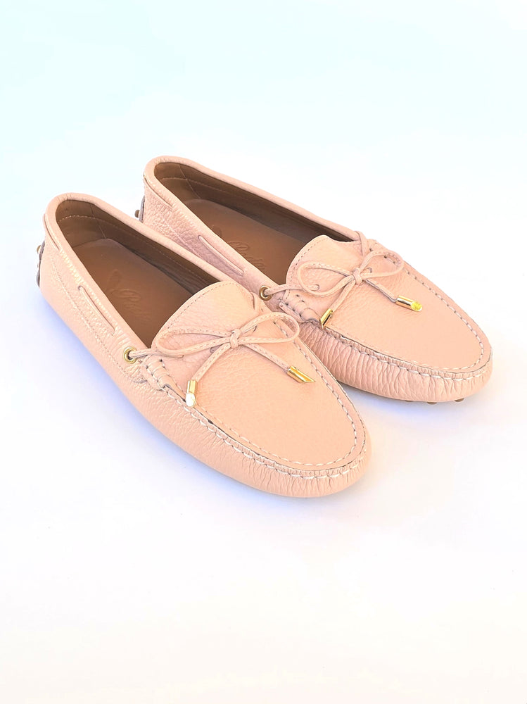 Load image into Gallery viewer, Pale Pink Leather Loafer