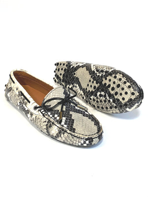 Snake Leather Loafers