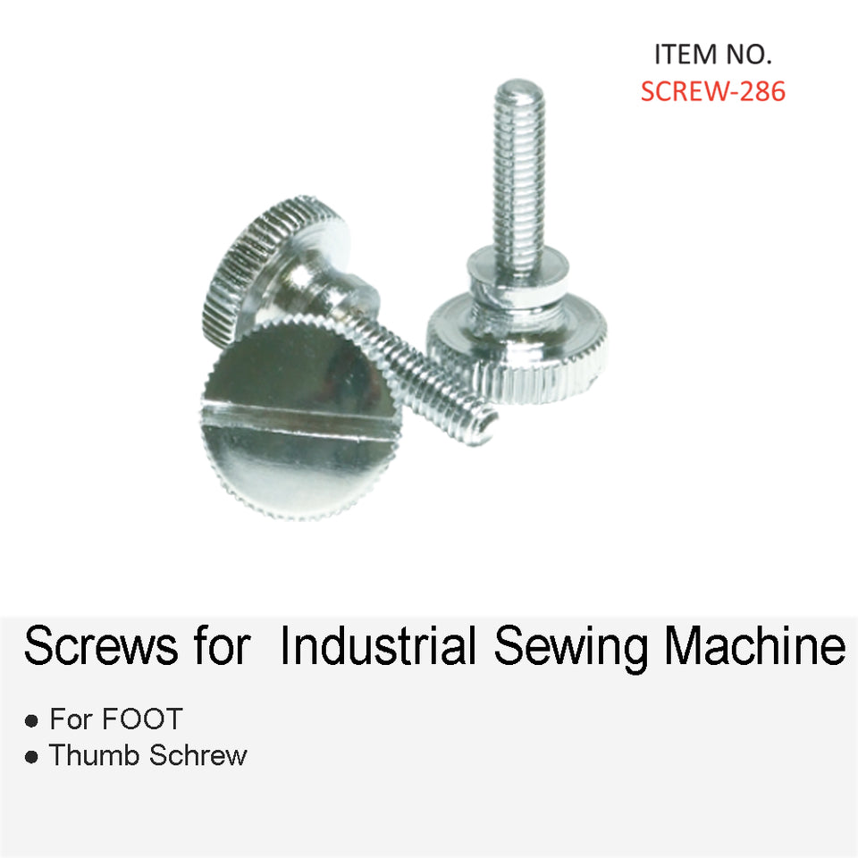 SCREWS AND ACCESSORIES FOR INDUSTRIAL SEWING MACHINE