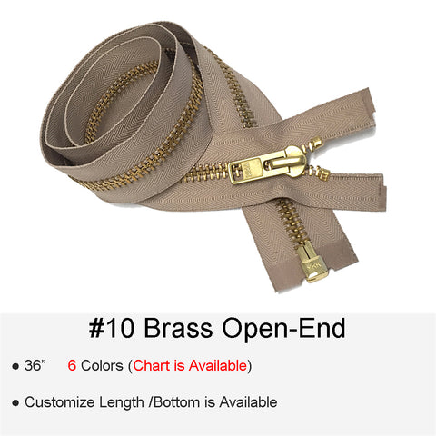 BRASS #10 OPEN-END