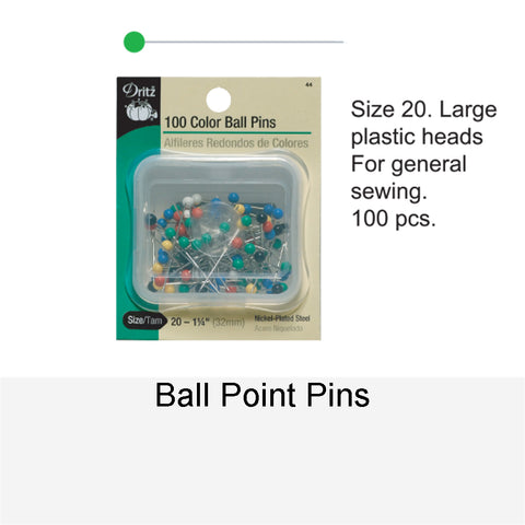 100 BALL POINT PINS