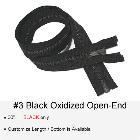 BLACK-OXIDIZED #3 OPEN-END