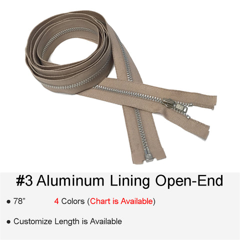 ALUMINUM LINING #3 OPEN-END