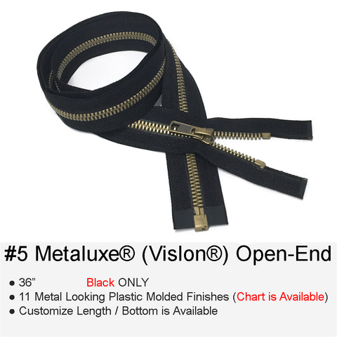 METALUXE PLASTIC-MOLDED #5 OPEN-END