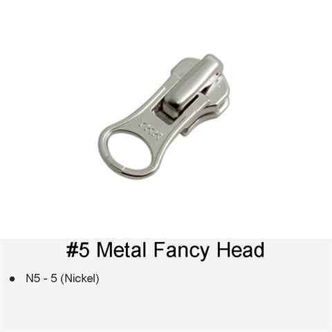 SLIDER #5 METAL FANCY HEAD 5