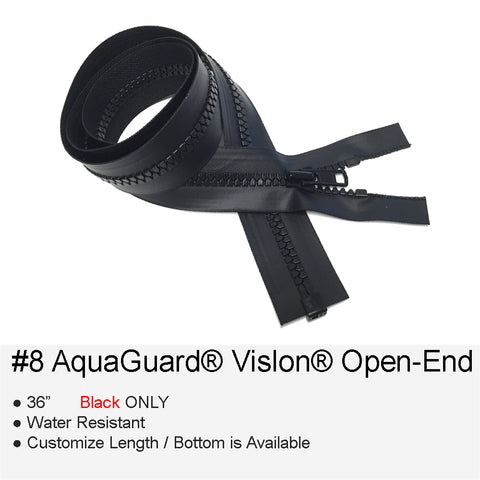 AQUAGUARD PLASTIC-MOLDED #8 OPEN-END