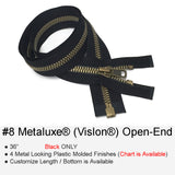 METALUXE PLASTIC-MOLDED #8 OPEN-END