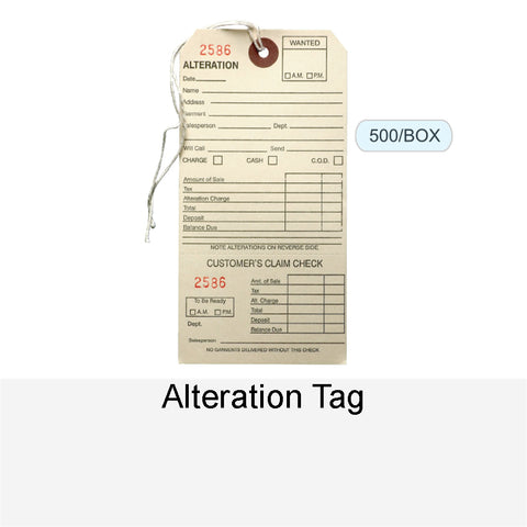 ALTERATION TAG