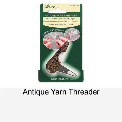 ANTIQUE YARN THREADER