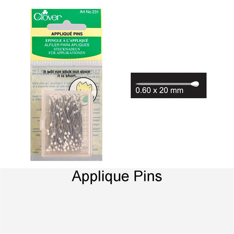 APPLIQUE PINS
